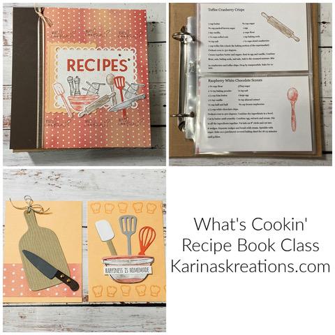What's Cookin Recipe Book